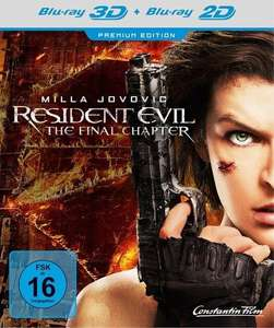 Resident Evil The Final Chapter 3D/2D Premium Edition
