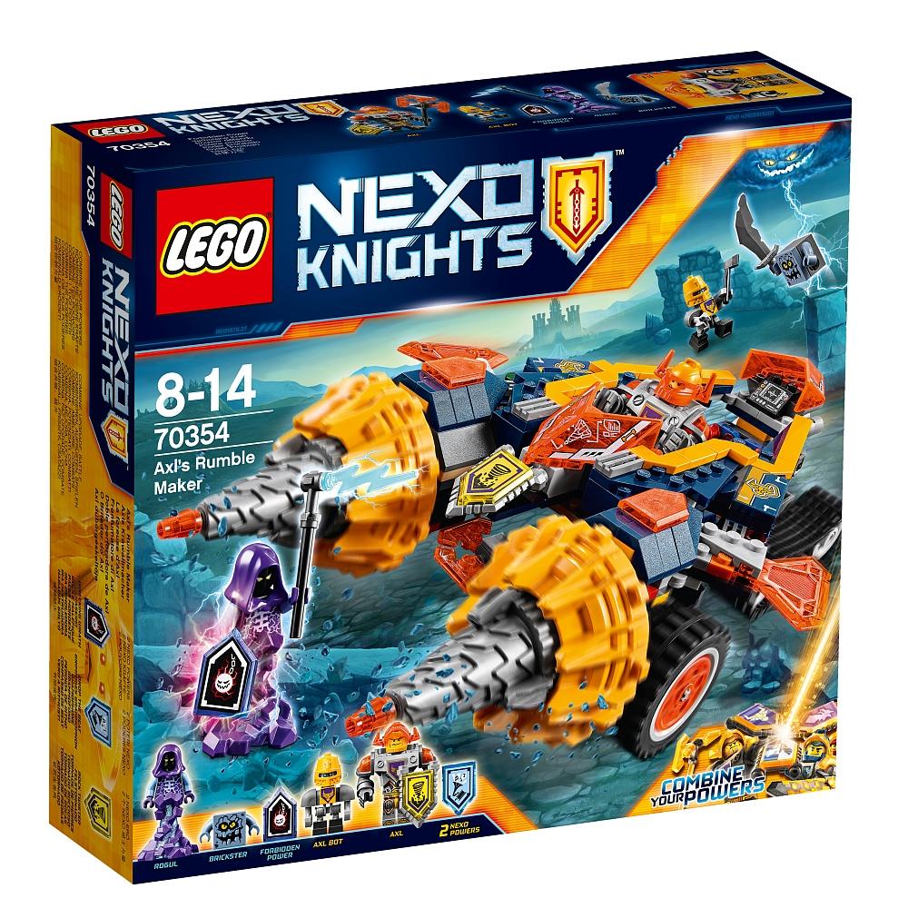 Lego Nexo Knights 70354 Axls Krawallmacher für 29,98€ bei Abholung + 3 Nexo Knights Actionsets zum Preis von zwei für 19,98