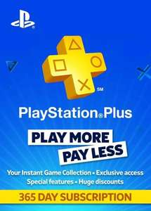 PS PLUS 365 Tage
