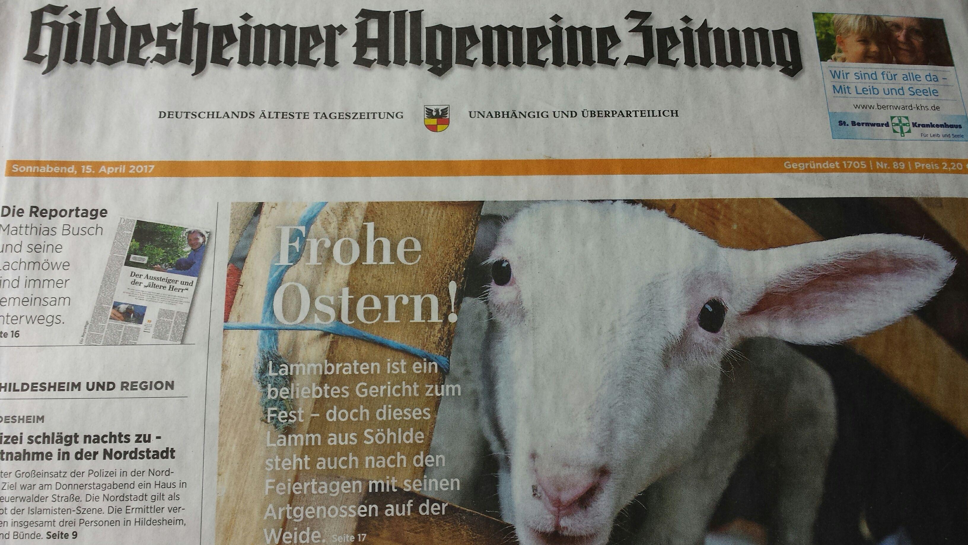 E-Paper: Hildesheimer Allgemeine Tageszeitung
