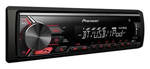 Pioneer MVH-390BT Autoradio mit Bluetooth, 4 x 50 Watt, USB-/AUX-Eingang, RDS, iPod/ iPhone-Di für 59€ (Amazon)