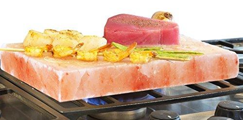 Chef Salzgrillstein 30x20x4 cm für Grillfleisch und Gemüse | 19,90€ inkl Versand