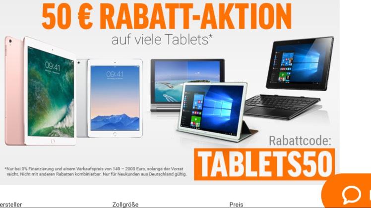 [NBB] 50€ Rabatt auf div. Tablets - z.B. MP Man NT 14 für 109€