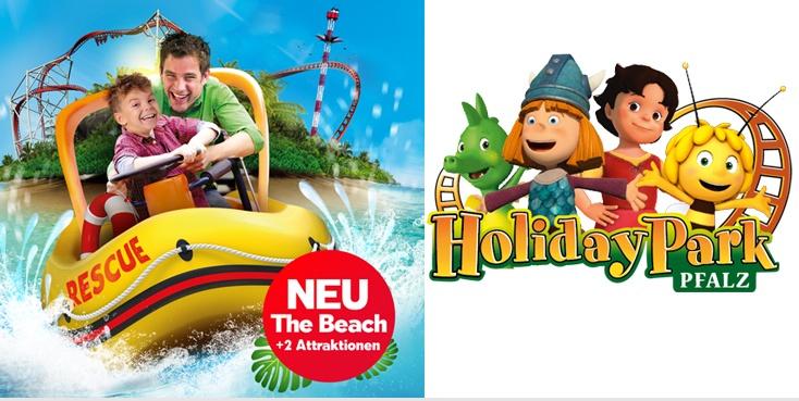 Tageskarte Holidaypark Haßloch Tickets für 23,99€