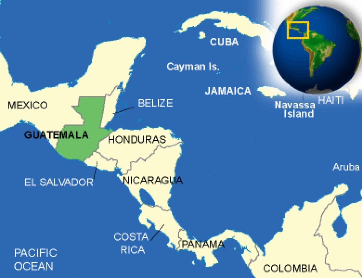 Von Brüssel o. Luxemburg nach Mittelamerika (Guatemala) ab 330 € [Juni - Oktober 2017]