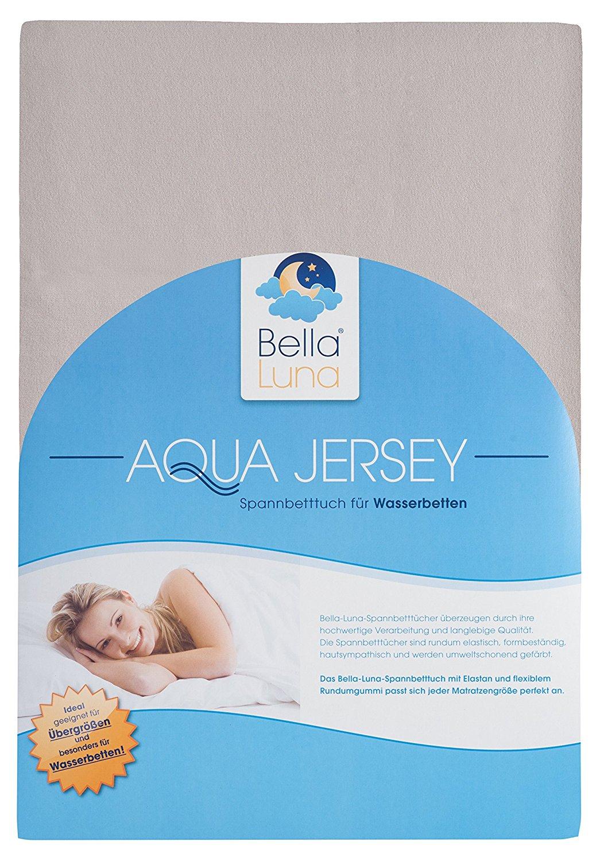 Bella Luna Spannbettlaken 180-200 x 200-220 cm Aquajersey für 27,96€ inkl. Versand für Primenutzer anstatt 34,95€
