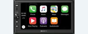 Sony XAV-AX100 (6,4 Zoll) (u.a. Apple CarPlay und Android Auto, 2 DIN Autoradio) bei amazon