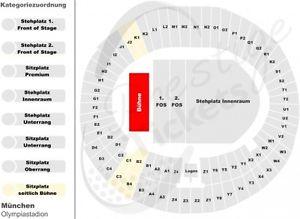 eBay: Guns N' Roses München 13.06.17 UNTERRANG BLOCK K1 für 55,- € statt 88,90 €