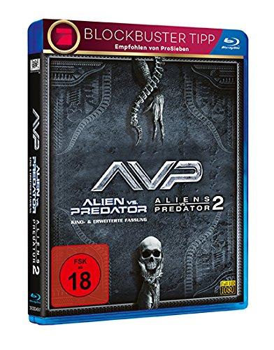 Alien vs. Predator 1+2 [Blu-ray]  @ Amazon