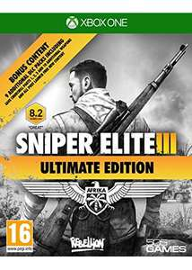 Sniper Elite 3 – Ultimate Edition (Xbox One) für 17,60€ inkl. VSK (Base.com)