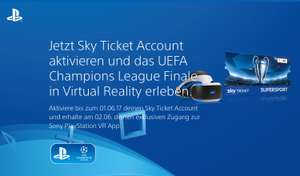 UEFA Champions League Finale in Virtual Reality erleben (PS+ erforderlich)