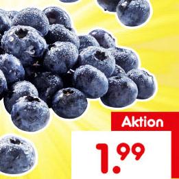 Heidelbeeren 500g für nur 1,99€ bei (Netto MD)
