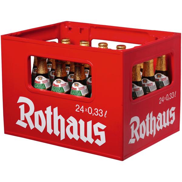 [Lokal Hamburg REWE Center Altona] Bier: Rothaus-Tannenzäpfle 11,99 € je 24er Kasten á 0,33er-Flaschen (+Pfand)