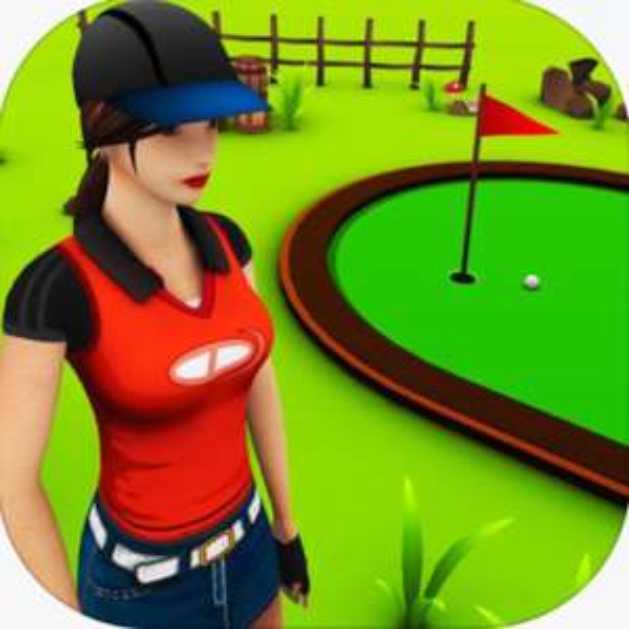 [iOS] Mini Golf Game 3D Plus kostenlos statt 2,29€