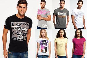 Ebay - Superdry - für Männer und Frauen T-shirts Versch. Modelle und Farben-Neu