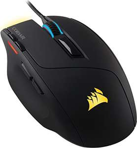 Corsair Gaming CH-9303011-EU Sabre Optische Gaming Maus (Multi-Colour RGB Backlit Performance 10000 DPI) (Amazon)