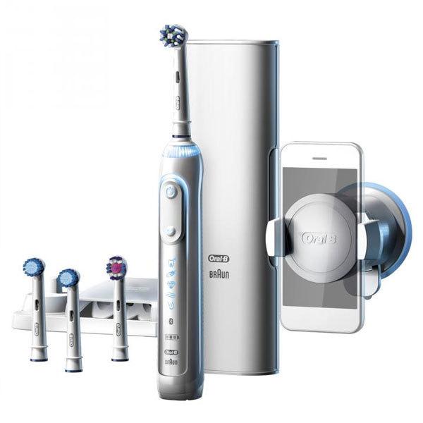 @eBay Braun Oral-B Genius 9000s Elektrische Zahnbürste Zahnpflege Bluetooth LiIon Akku