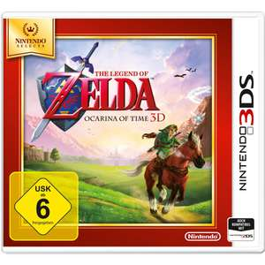 The Legend of Zelda: Ocarina of Time 3D (3DS) für 15,99€ (Müller)