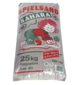 300kg Quarzsand für den Sandkasten - 77,40€ inkl. Porto bei eBay (0,26€/kg)