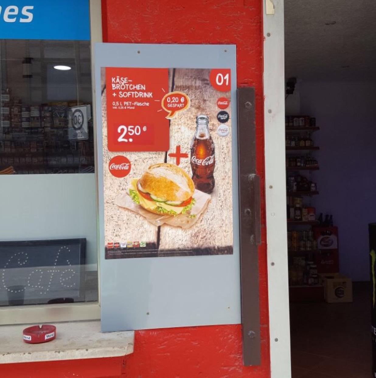 [Köln-Dellbrück] Ender's Kiosk - Belegtes Brötchen+Cola 2,50€
