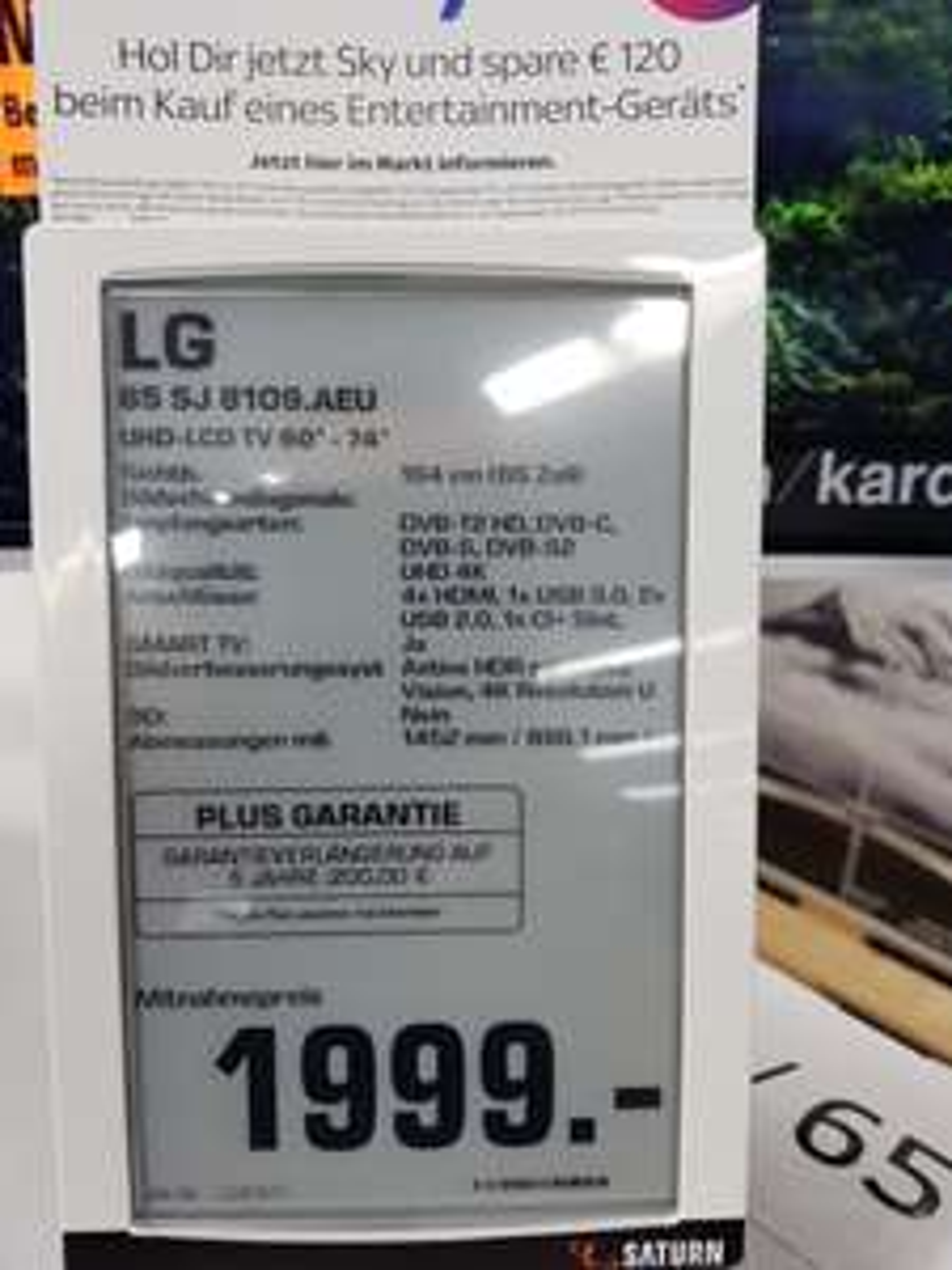 LG 65SJ8109 Super UHD