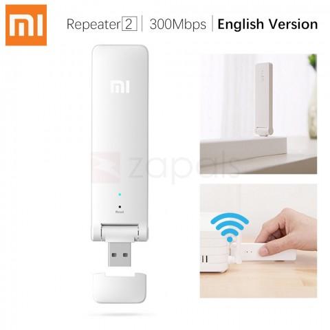 Original Xiaomi Mi WIFI 2 WLAN Repeater - ENGLISH VERSION WHITE - [Zapals]