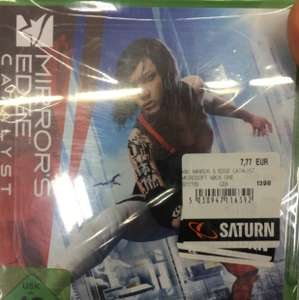 Mirror's Edge: Catalyst (Xbox One) für 7,77€ [lokal Saturn Darmstadt]