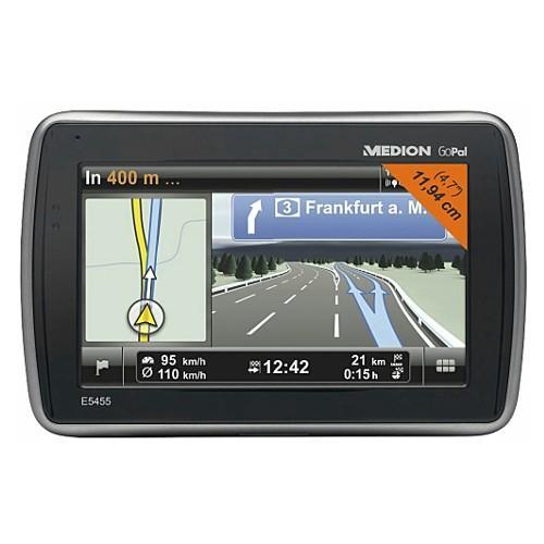 "MEDION E5455 Navigation 11,9cm 4,7"" Bluetooth EUROPA FM-Transmitter 4GB Gopal 6 @ebay 89,99€"