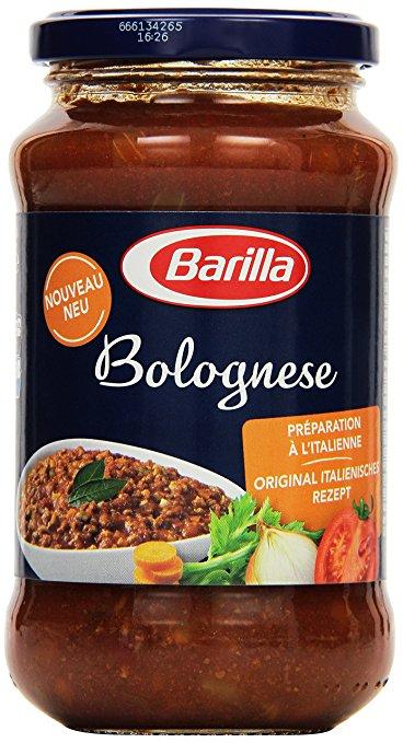 Sammeldeal Grenzgänger FR (Region KA): z.B. Barilla Bolognese 400g für 0,90€