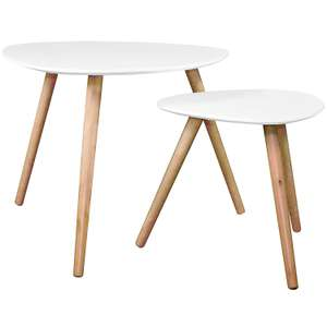 Set of 2 nesting coffee tables perfect for every room in the house (3 Pfund zzgl Versand)