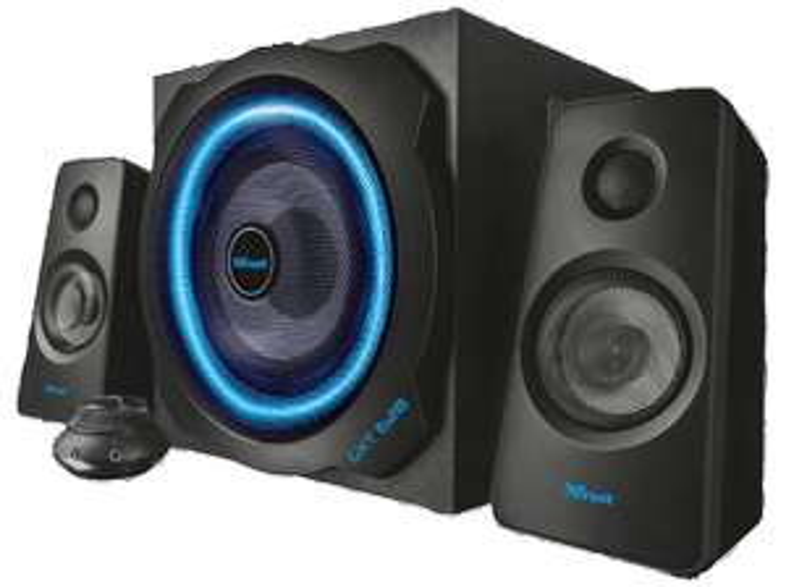 "TRUST GXT 628 2.1 Speaker ""Illuminated Limited Edition"" [Saturn] und [Amazon] PVG: 78,02€"