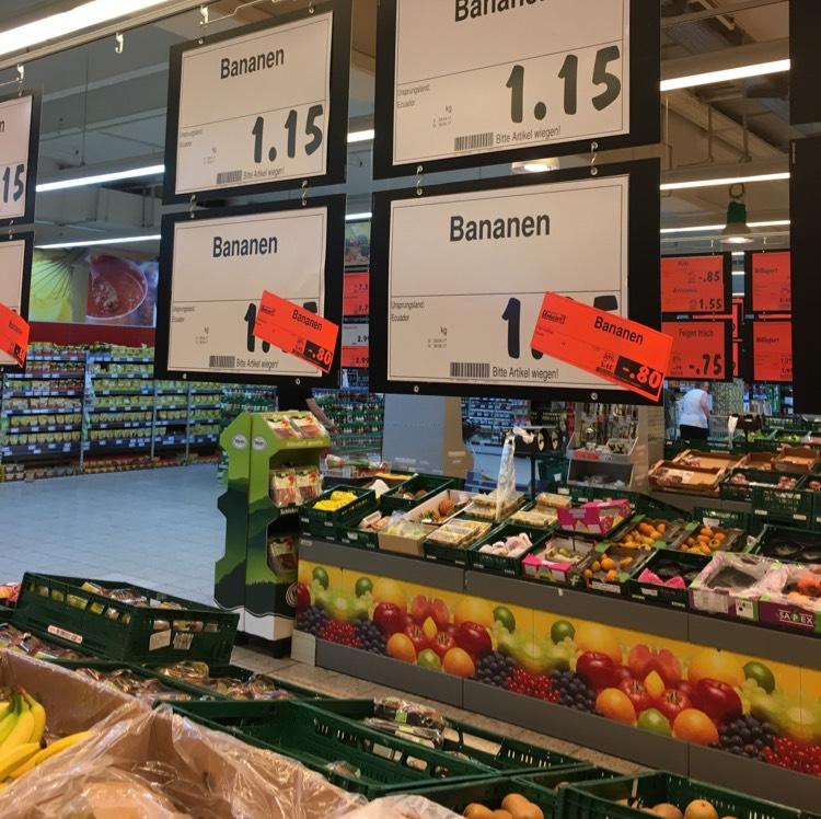 [Kaufland Ludwigsburg] Bananen 0,80€/ kg