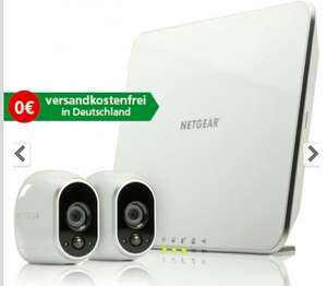 [comtech] Netgear Arlo VMS3230 Sicherheitssystem mit 2 Kameras
