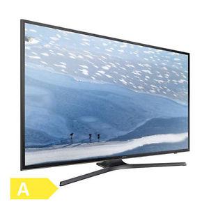 Samsung UE55KU6079UXZG - 55 Zoll Fernseher (Ultra HD, 4K, HDR, DVB-T/-T2/-C/-S/-S2 HEVC H.265, Smart TV, WLAN, HbbTV, 60 Hz nativ, Gaming Mode, Input Lag <30ms) [deltatecc@eBay]
