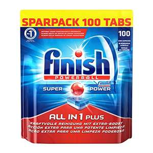Finish All in 1 Plus Sparpack, 1er Pack (1 x 100 Tabs) 12,82€