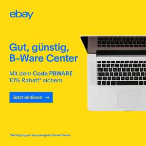 10% eBay B-Ware Center Gutschein