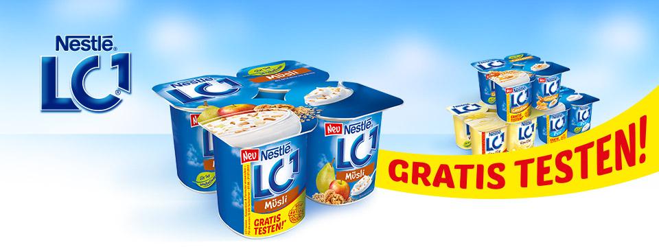LC1 Joghurt Gratis Testen! (GZG)