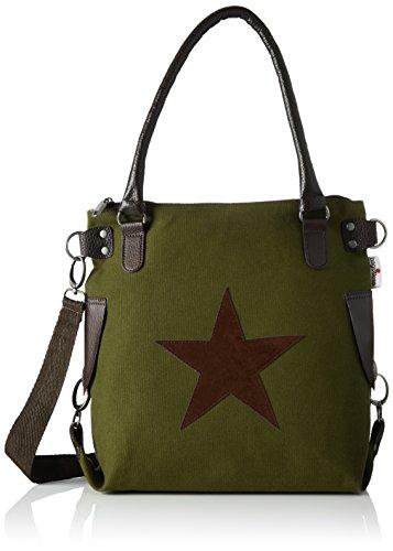Bags4Less Damen Stern-Mini Umhängetasche, 32x34x44 cm 8 Farben [amazon.de]