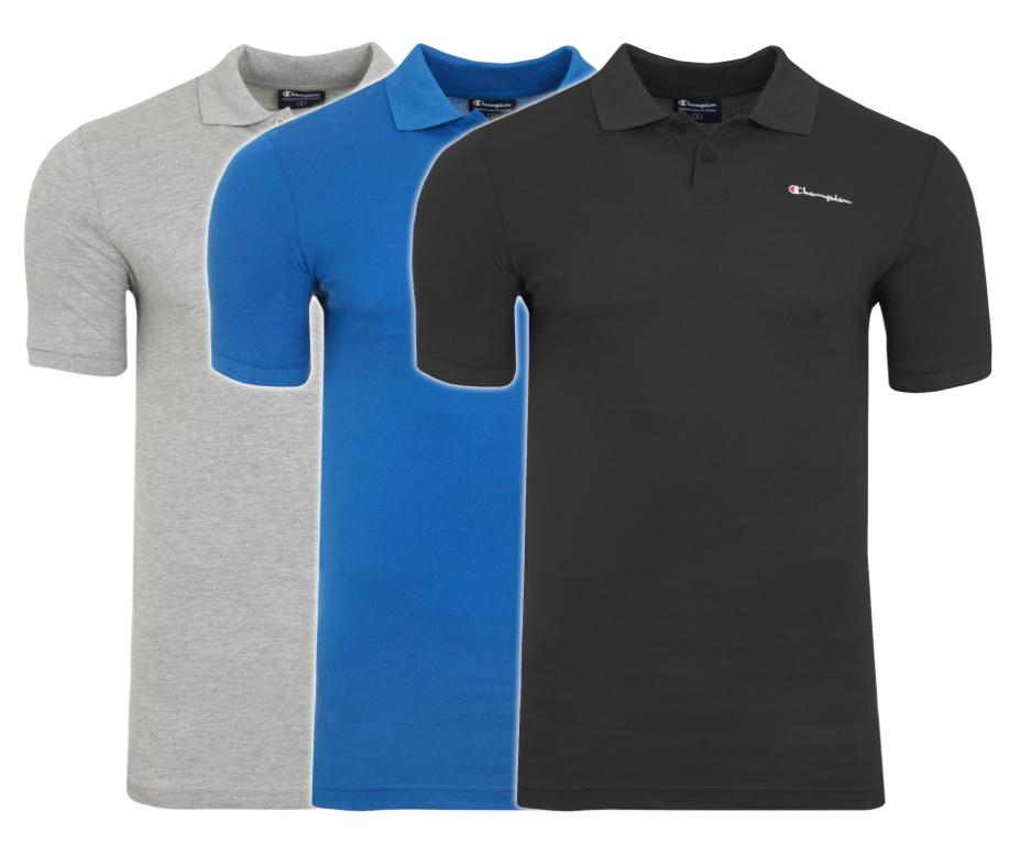 Poloshirts von Champion in 3 Farben und 100% Baumwolle (M-2XL) für jew. 9,99€ statt ca. 16€ @Outlet46 *Aufgefüllt*
