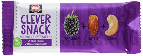 Clever Snack Brombeere - Dattel - Cashew 15er Pack für 4,90€ im [Amazon Sparabo]