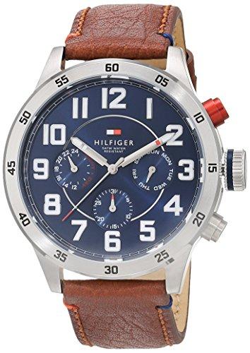 [Amazon] Tommy Hilfiger Watches Herren-Armbanduhr Analog Quarz Leder 1791066