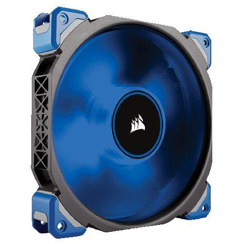 [Amazon] Corsair CO-9050048-WW ML Series ML140 LED Premium PC-Gehäuselüfter mit Magnetschwebetechnik, 140 mm, Blaue LED, schwarz/blau
