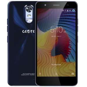 "Geotel Note 4G (5.5"" IPS HD, 3GB RAM, 16GB ROM, 3200mAh, Android 6, LTE) für 66,74€ @ Gearbest"