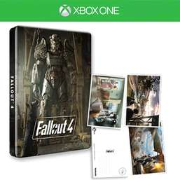 Fallout 4 + Steelbook & Postcards Bundle (Xbox One & PS4) für je 20,62€ (Game UK)