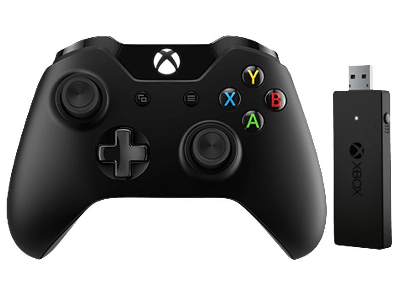 MICROSOFT Xbox One Controller (Bluetooth Version) + Wireless Adapter für Windows (CWT-00002) für 39,-€ inc. Versand nach Deutschland [Mediamarkt Österreich]