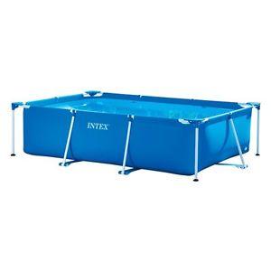 Intex Family Schwimmbecken Frame Pool Faltbecken 300x200x75 cm für 51,99€ mit dem 20%-Gutschein