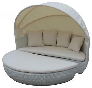 Sonneninsel Bahne Moon Bed inkl. Kissen creme für 319,99€ mit dem 20%-Gutschein