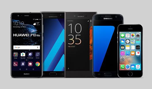 Otelo Allnet-Flat XL + Samsung Galaxy J5 / Huawei P9 Lite / Sony Xperia XA 16GB