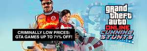 GTA Weekend Sale @ Gamersgate (z.B.GTA III für 2.09€ - GTA 5 für ca. 23,72€ - Trilogy für 5,76€)