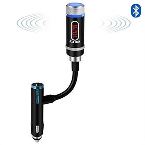 [Amazon Prime] Bluetooth FM-Transmitter für 12,99€ / mit internem Akku, Freisprechfunktion, Musikwiedergabe, GPS-Sprachnavigation